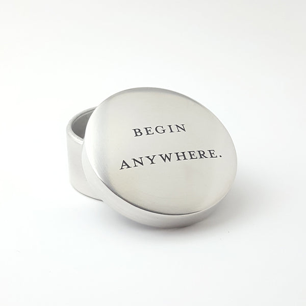 Begin Anywhere Keepsake Box