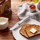 spread the love pewter cheese and butter spreader
