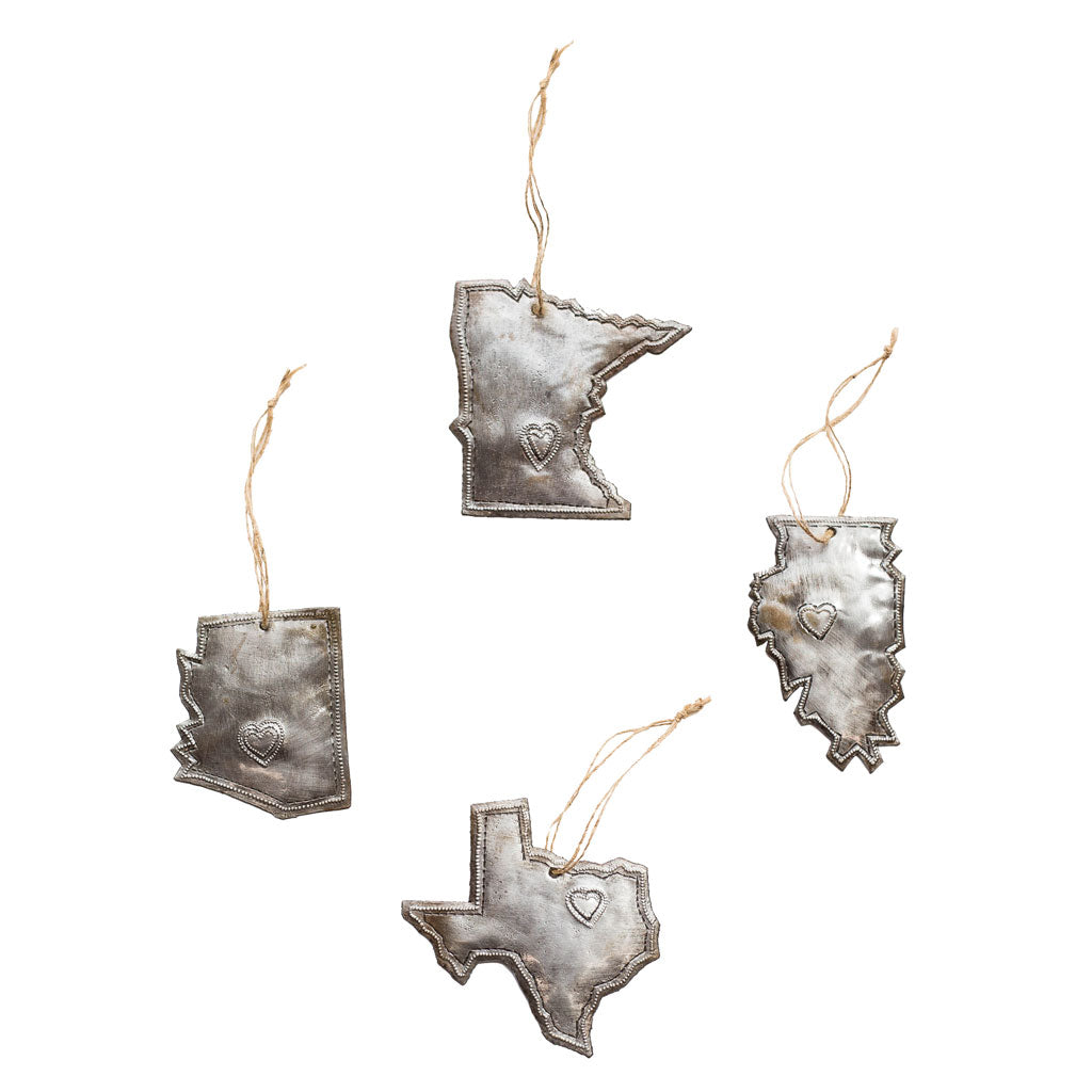 Oil Drum State Ornaments