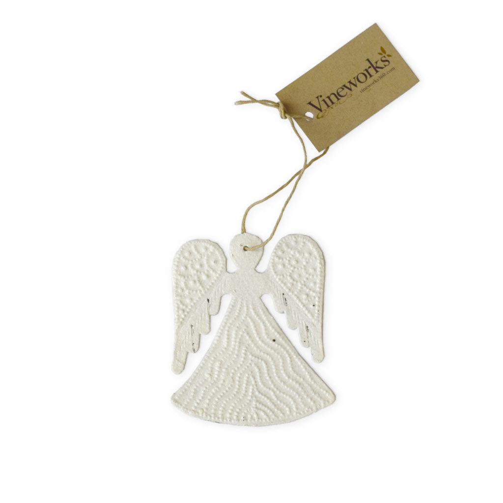 Angel Oil Drum Ornament