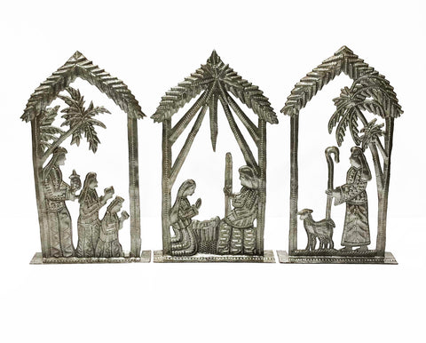 Three Piece Standing Nativity