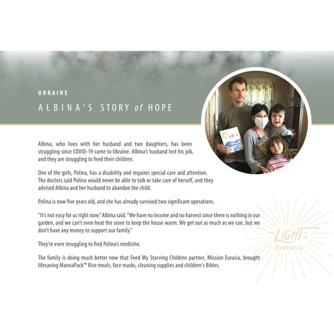 Story of Hope: Albina | Ukraine