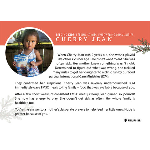 Story Card - The Philippines: Cherry Jean
