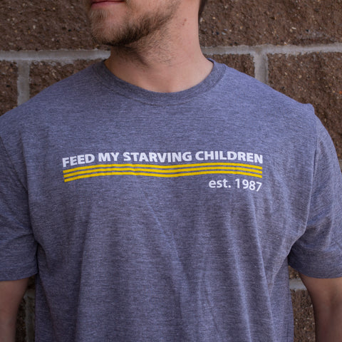FMSC Yellow Stripe T-Shirt