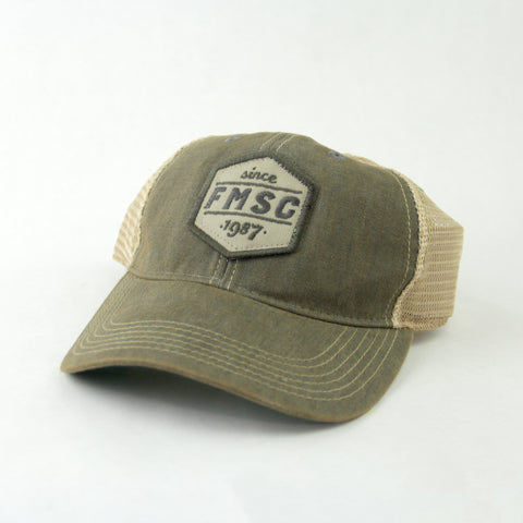 1987 FMSC Trucker Hat - Dusty Gray