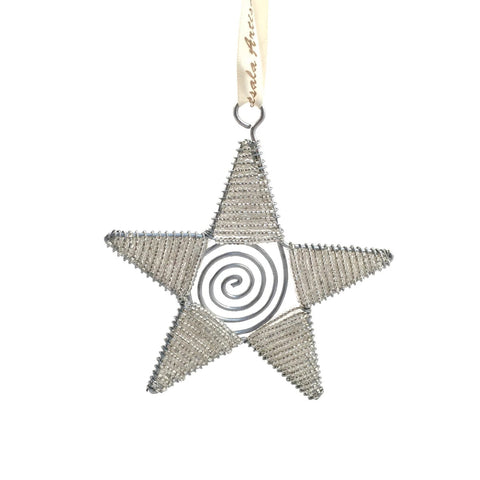 Wire Star Ornament