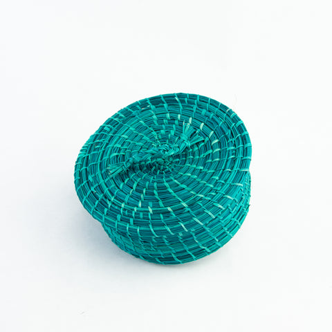 Lidded Banana Leaf Basket