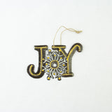 Joy Snowflake Ornament