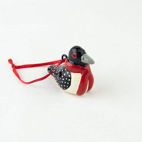 Mini Loon Whistle Ornament