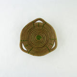 Olive Mini Pine Needle Basket