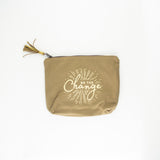 Change Zipper Pouch