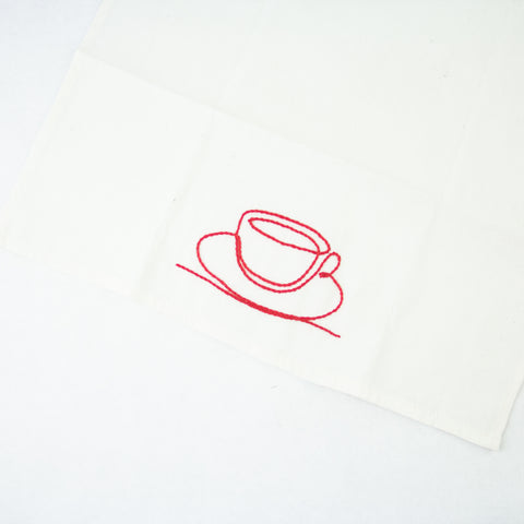 Cup and Saucer Dish Towel