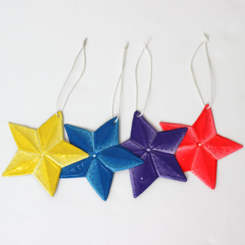 Oil Drum Star Ornaments