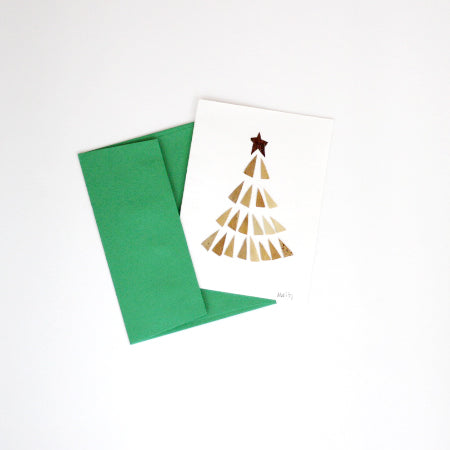 Banana Leaf Cards - Tree