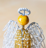 Gold Beaded Angel
