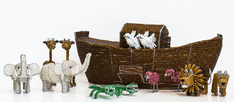 Beaded Noah's Ark Set