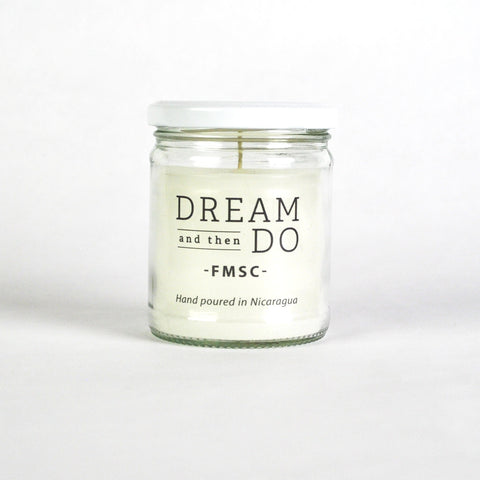 Dream and Then Do Candle