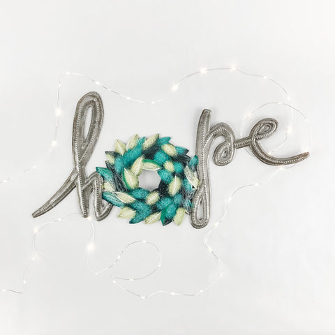 Hope Wreath Wall Art