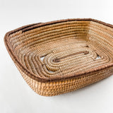 Rectangle Pine Needle Basket