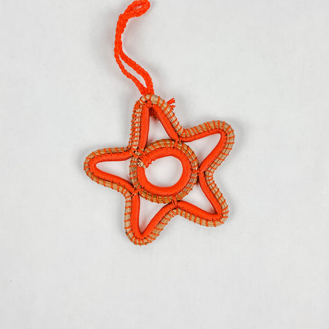Pine Needle Star Ornaments