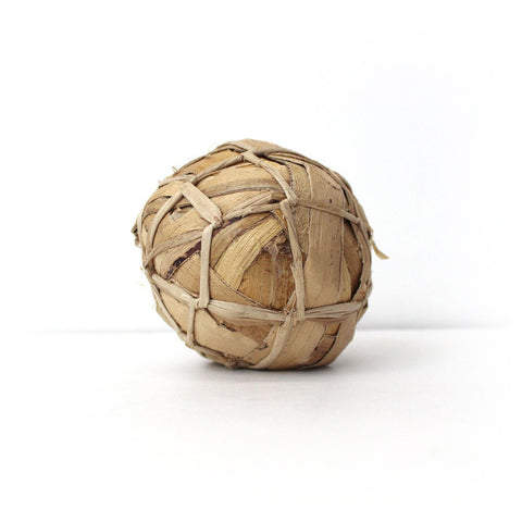 Banana leaf soccer ball