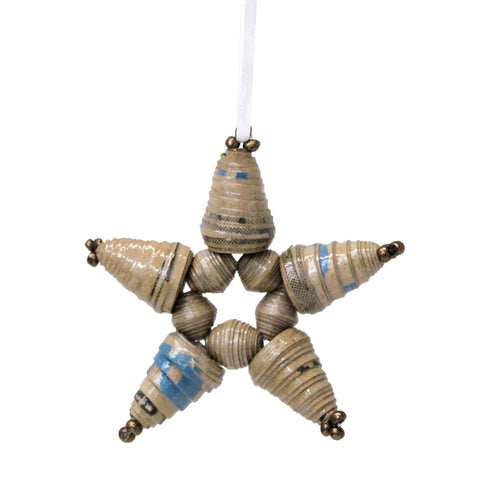 MannaPack Box Star Ornament
