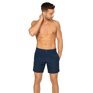 "Aruba 6.5"" Deep Navy Blue Swim Trunks"