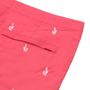 coral red swim trunks boto
