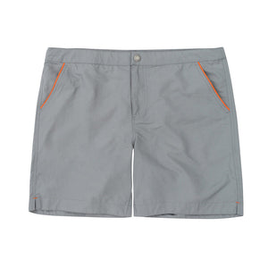 "Rio 6.5"" Anchor Grey with Boto Pouch Lining Swim Trunks"