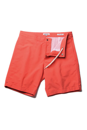 "Aruba 8.5"" Papaya Orange Swim Trunks"