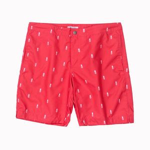 mens swim suit red boto