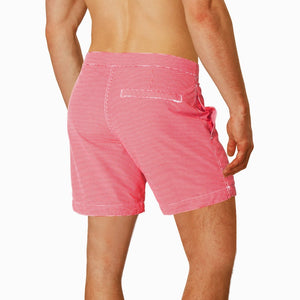 mens swim trunks red