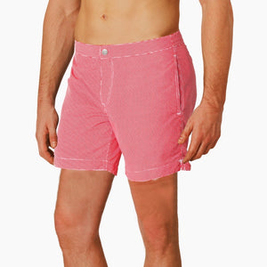 mens swimwear coral red boto