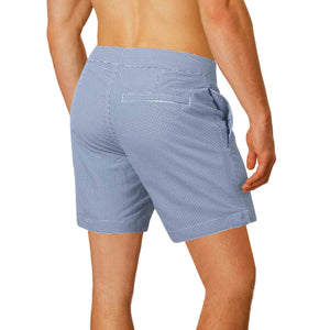 tailored fit swim trunks