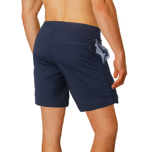 designer mens swimwear navy boto