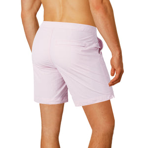 "Rio 6.5"" Pastel Pink Swim Trunks"