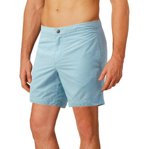 aqua blue swim shorts boto
