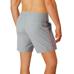 grey mens swim suit