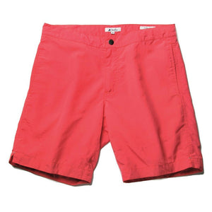 "Aruba 8.5"" Island Coral Red Swim Trunks"