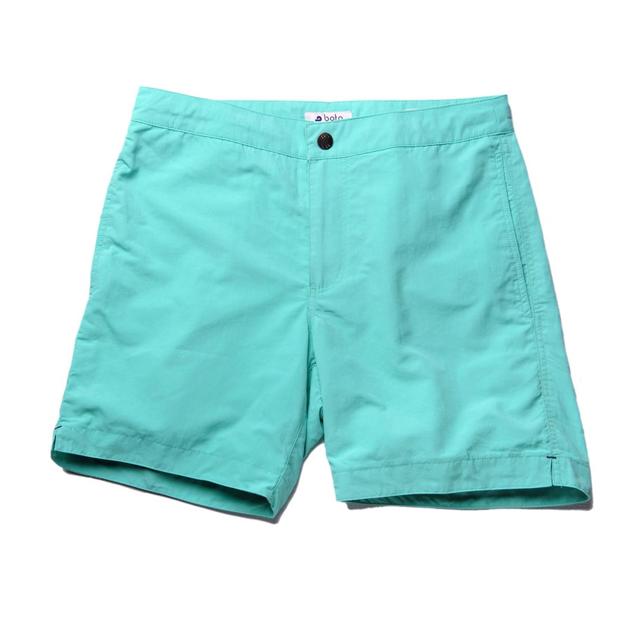 "Aruba 6.5"" Bright Lagoon Turquoise Swim Trunks"