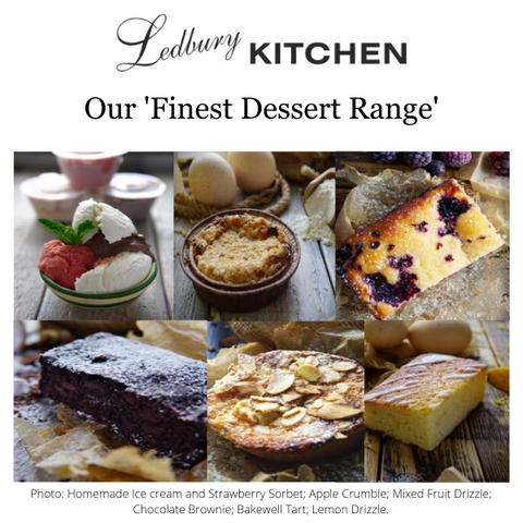 Our Finest Dessert Range
