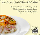 'A-la-Carte' Chicken & Smoked Ham Hock Bake Ready Meal