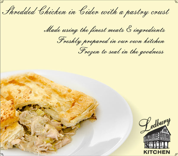 'A-la-Carte' Chicken, Bacon and Leek topped with a Puff Pastry Lid Ready Meal