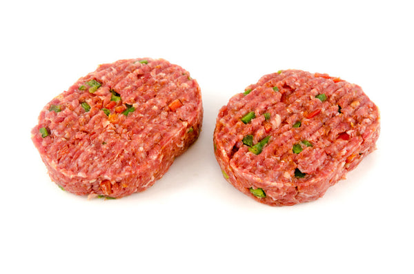 Beef 'Chilli' 2 x 180g Burgers per pack  !!WARNING REALLY HOT!!