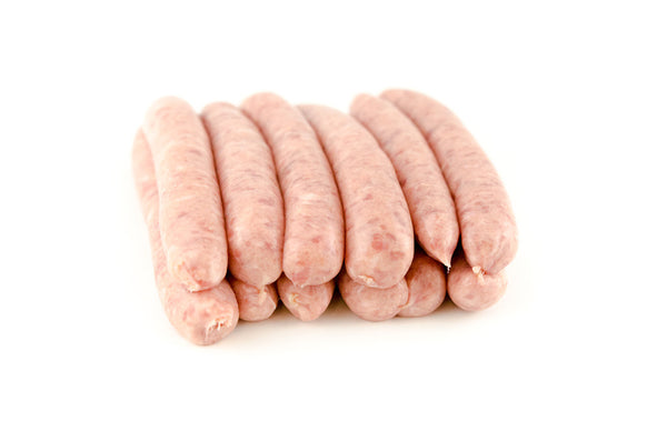 Traditional Pork Chipolata. 12 Pack