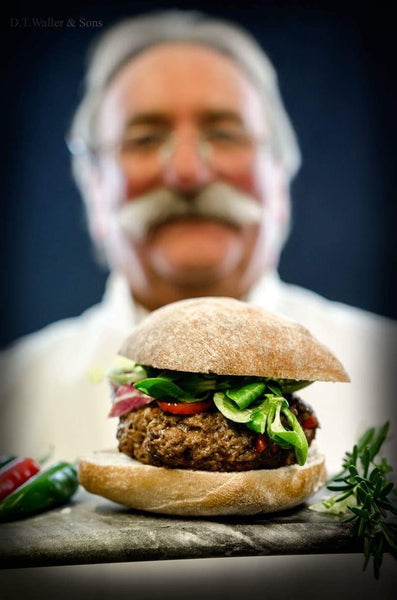 Beef Burgers - 2 x 160g (6oz) Approx. weight