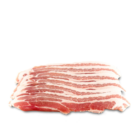 Plain Streaky Bacon 8 slices 220g approx