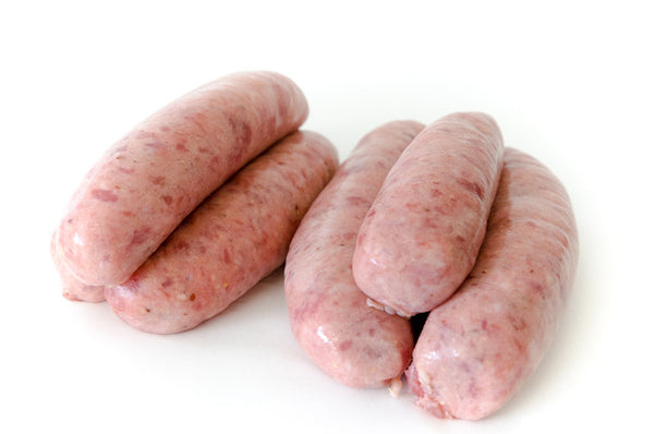 Pork, Honey and Mustard Sausage 5 per pack