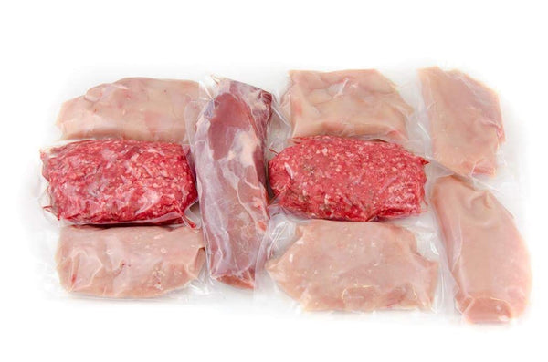 High protein - Low fat meat selection