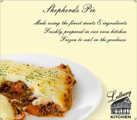 'A-la-Carte' Shepherds Pie Ready Meal